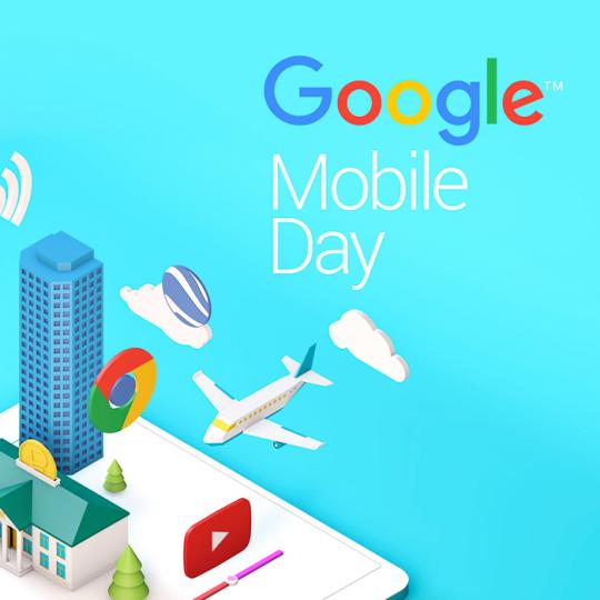 Визуализация для Google mobile day